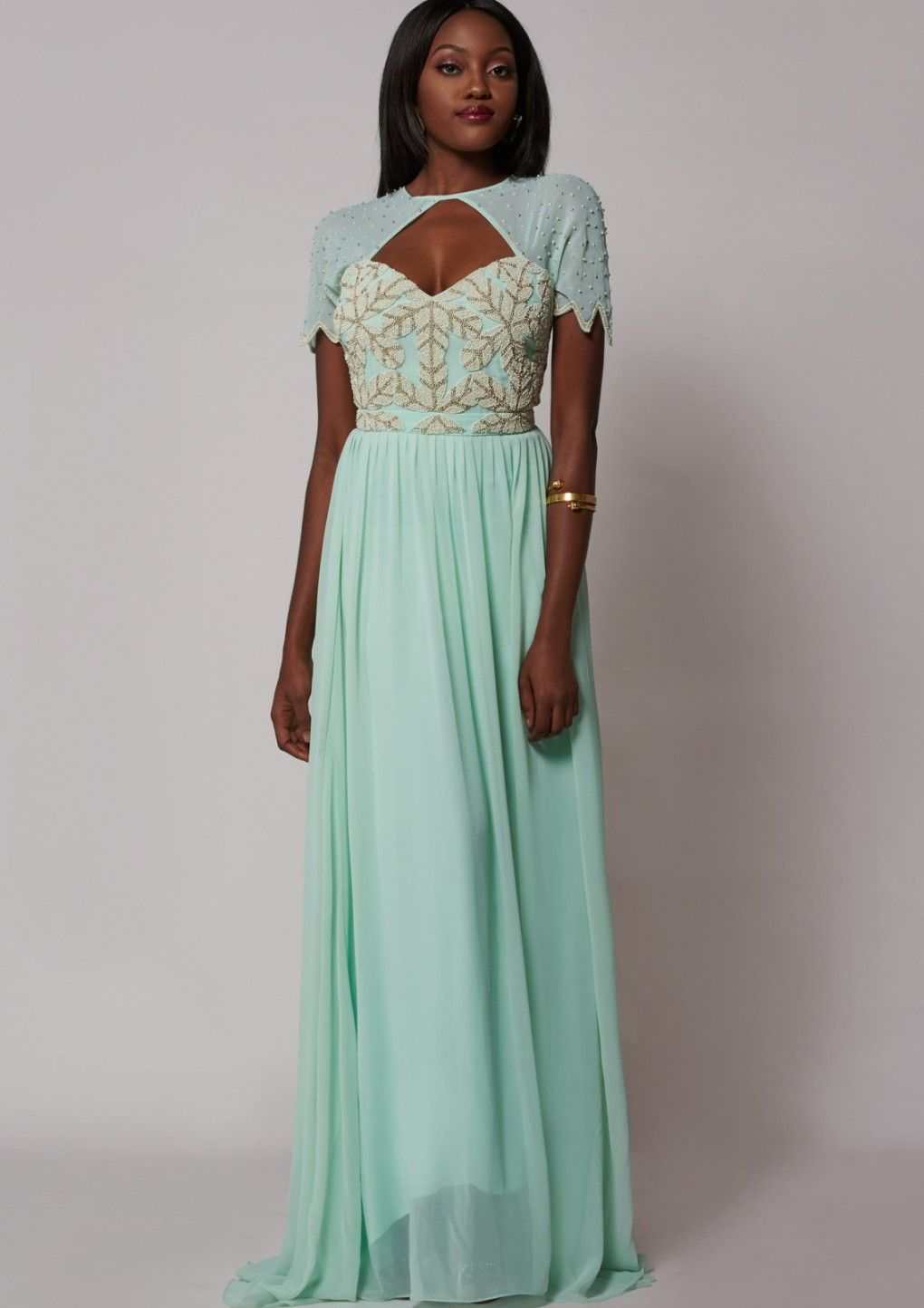 Laima Dress Mint | Bridesmaids | Pinterest