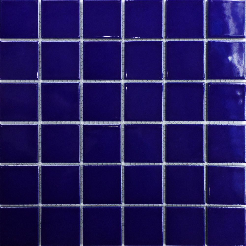 Ceramic 2x2 Mosaics Tile Blue Swimming Pool Bathroom