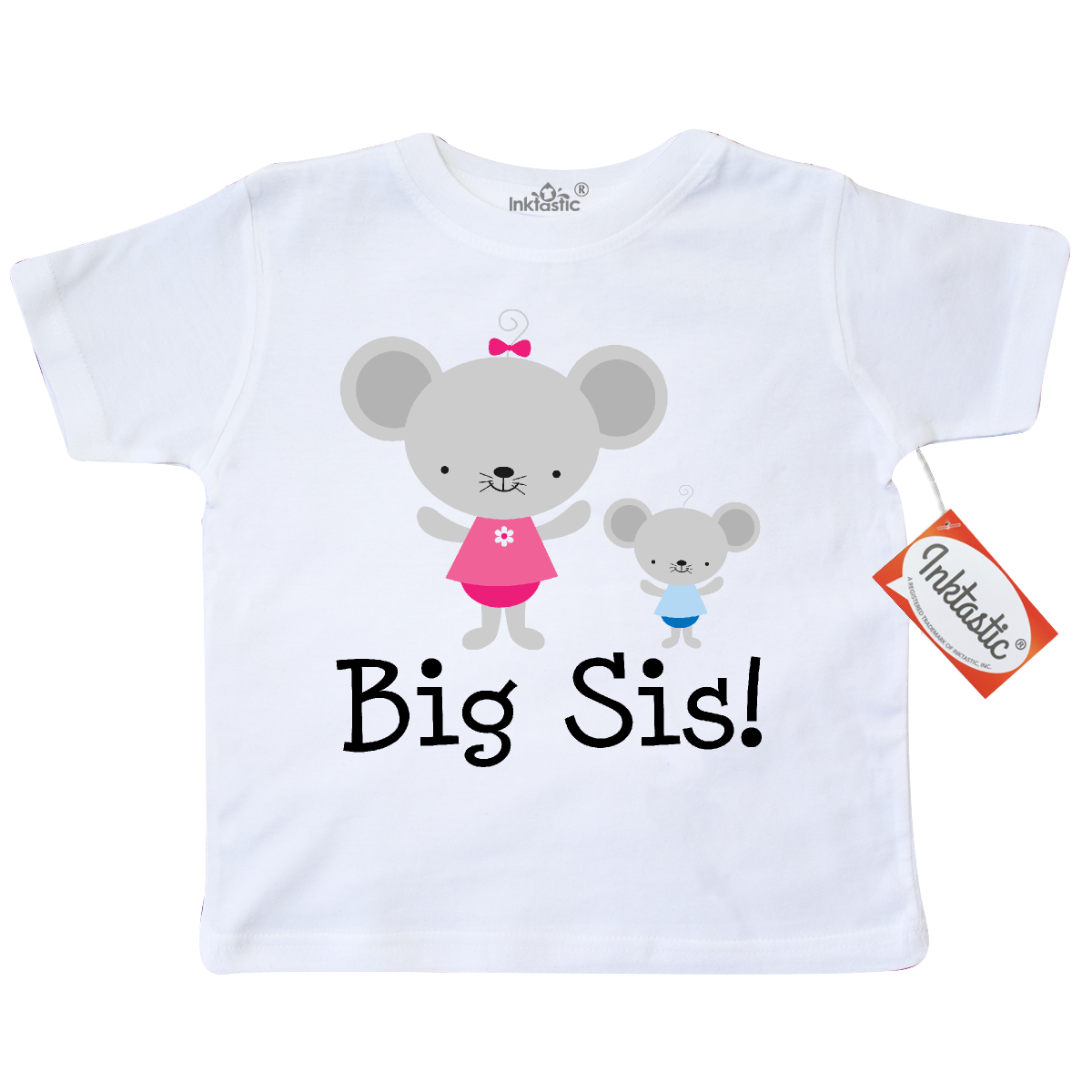 Big Sis with Lil Bro Toddler T-Shirt White $12.99 www.homewiseshopperkids.com