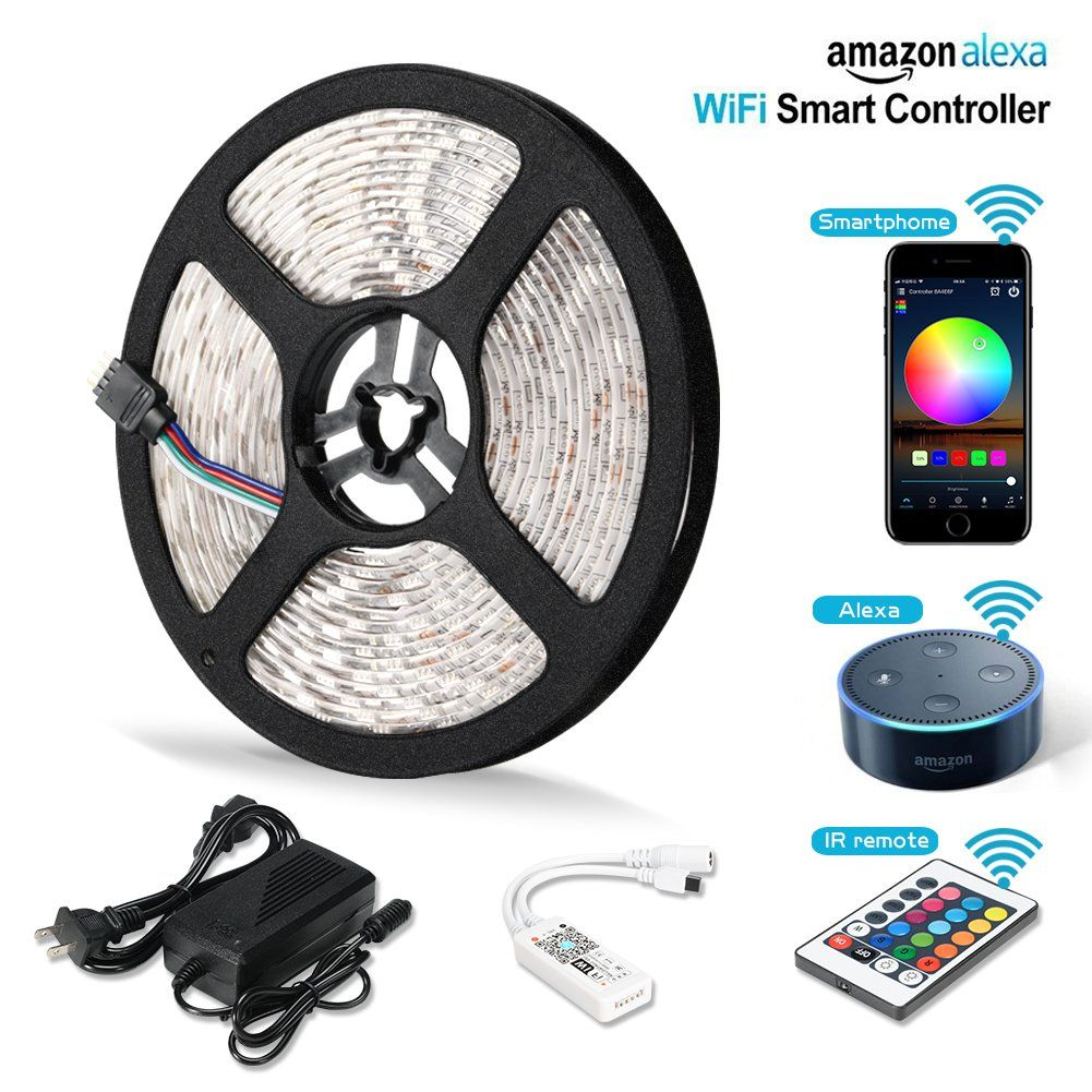 Wireless Led Light Strips Magnificent Litake Led Strip Lights Wifi Wireless Smart Phone Controlled Light Review