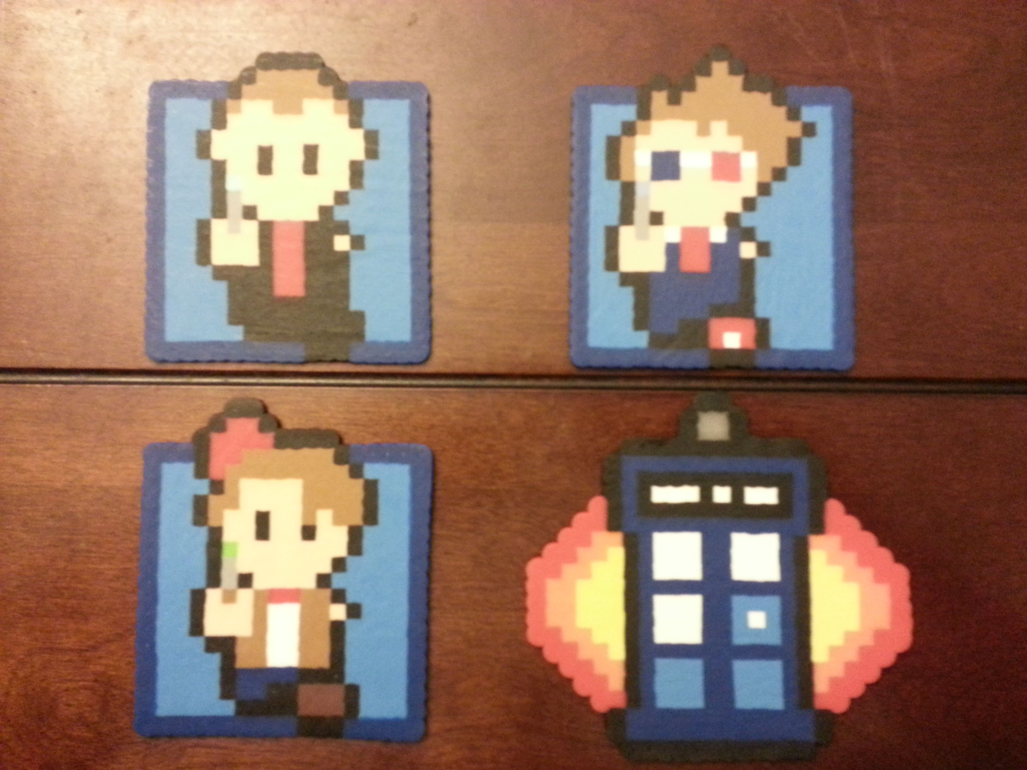 Doctor Who coasters