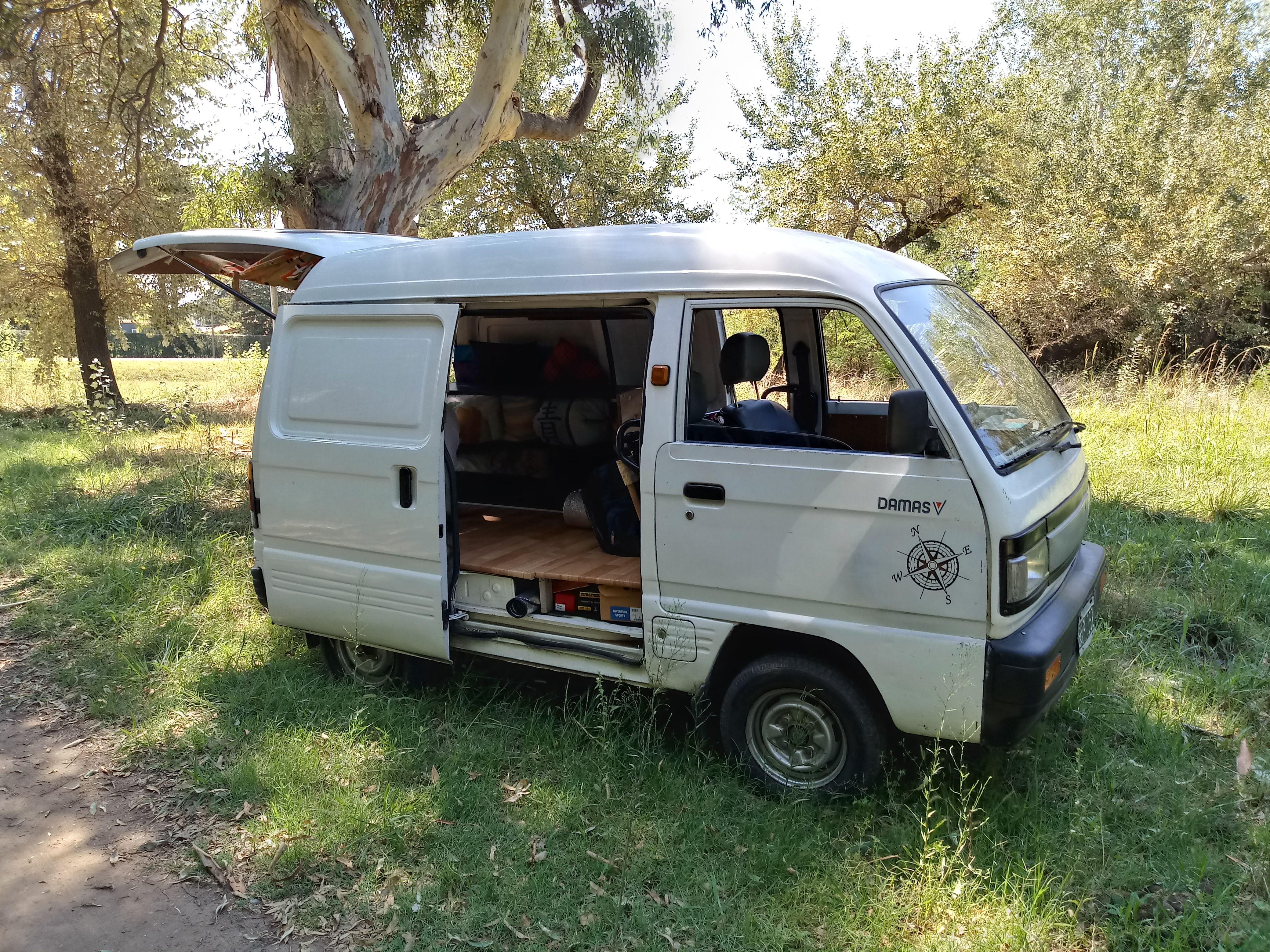 Daewoo Damas Full Camping Vanlife Mini Van Van Life Suzuki Carry