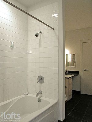 white tile shower surround | white tile shower, white