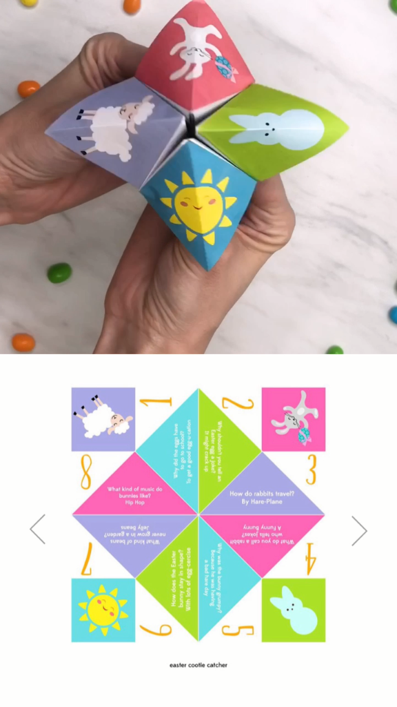 Easter Activities For Kids | Download these fun printable Easter activities for kids which includes lots of fun printable including this cootie