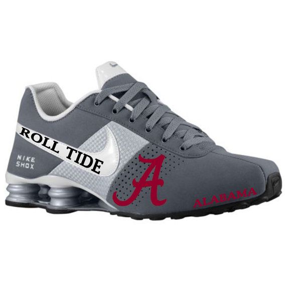 c72ae5f344 Mens Alabama Nike Shox sample by BlinginBlitz on Etsy | Bama stuff ...