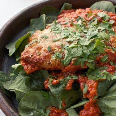 Chicken Parmesan / Pollo Alla Parmigiana / Parmesankyllingr
