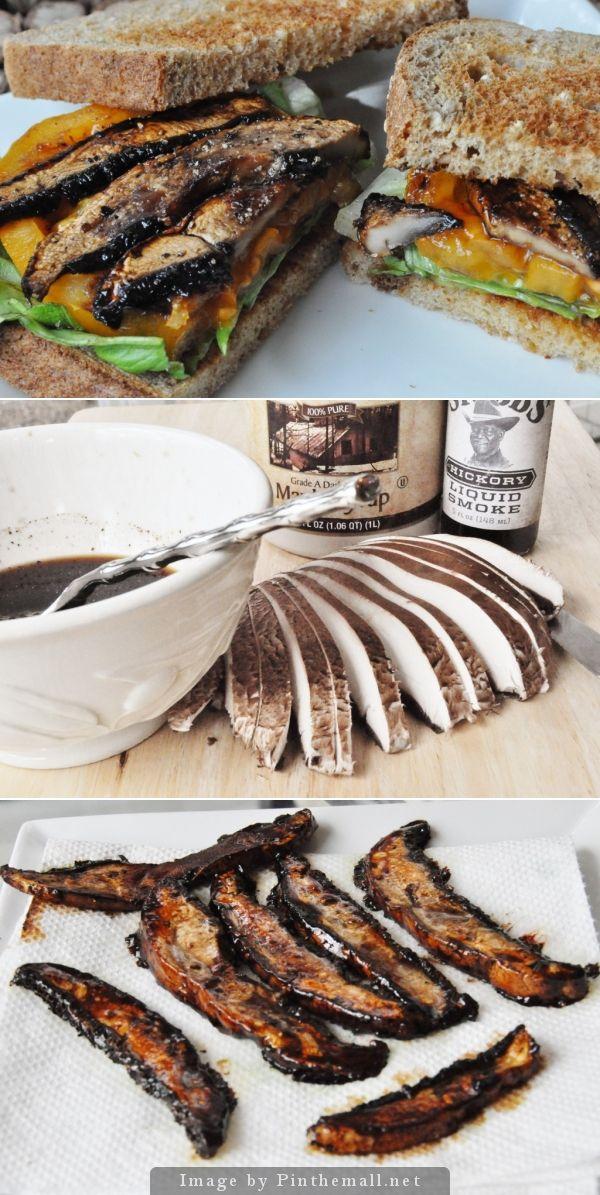portabello recept vegetarisk