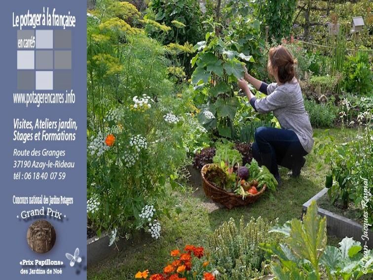 Corso di giardinaggio sull?orto in quadrato alla francese - France-Voyage.com