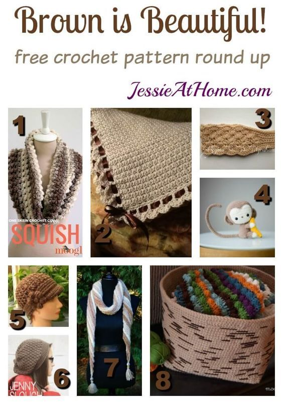brown-is-beautiful-free-crochet-pattern-round-up-by-jessie-at-home ...