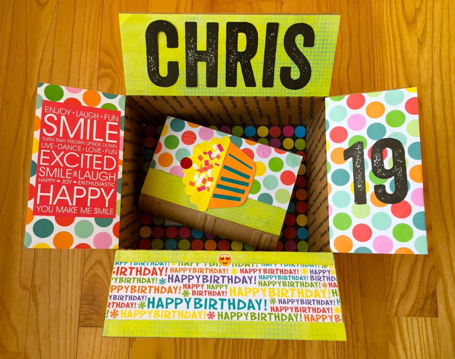 Birthday Care Package for College Students by BoxyMama on Etsy