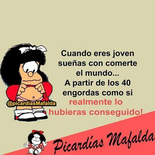 Cuando Eres Ingeniosos Mafalda Frases Mafalda Y