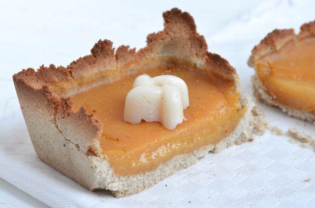 Tarta de naranja (Veganiza al chef)