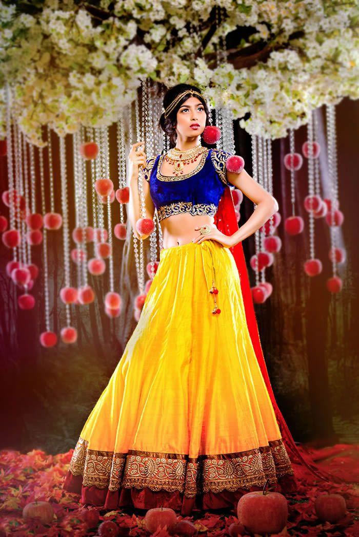 9 Princesas da Disney lindíssimas reimaginadas como noivas indianas | ROCK'N TECH