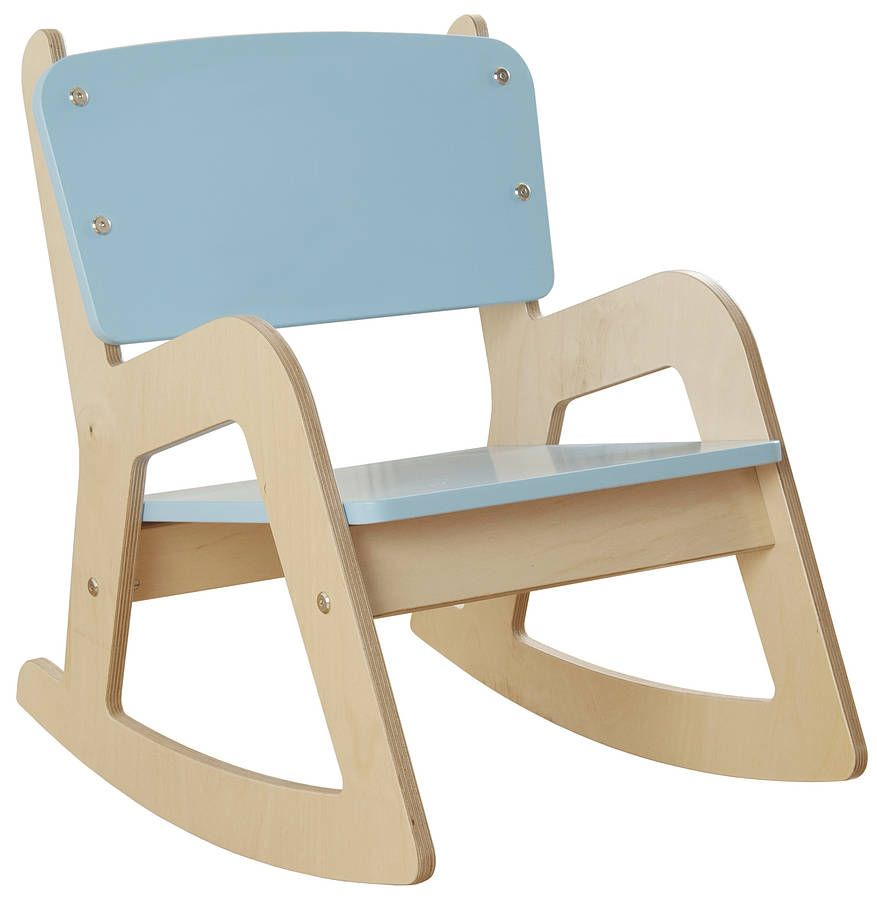 Childrenu0027s Wooden Rocking Chair