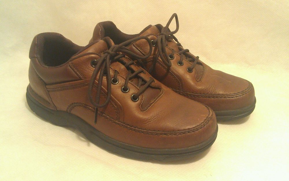 Rockport Eureka Men's 8.5W Brown Shoes #Rockport #FashionSneakers