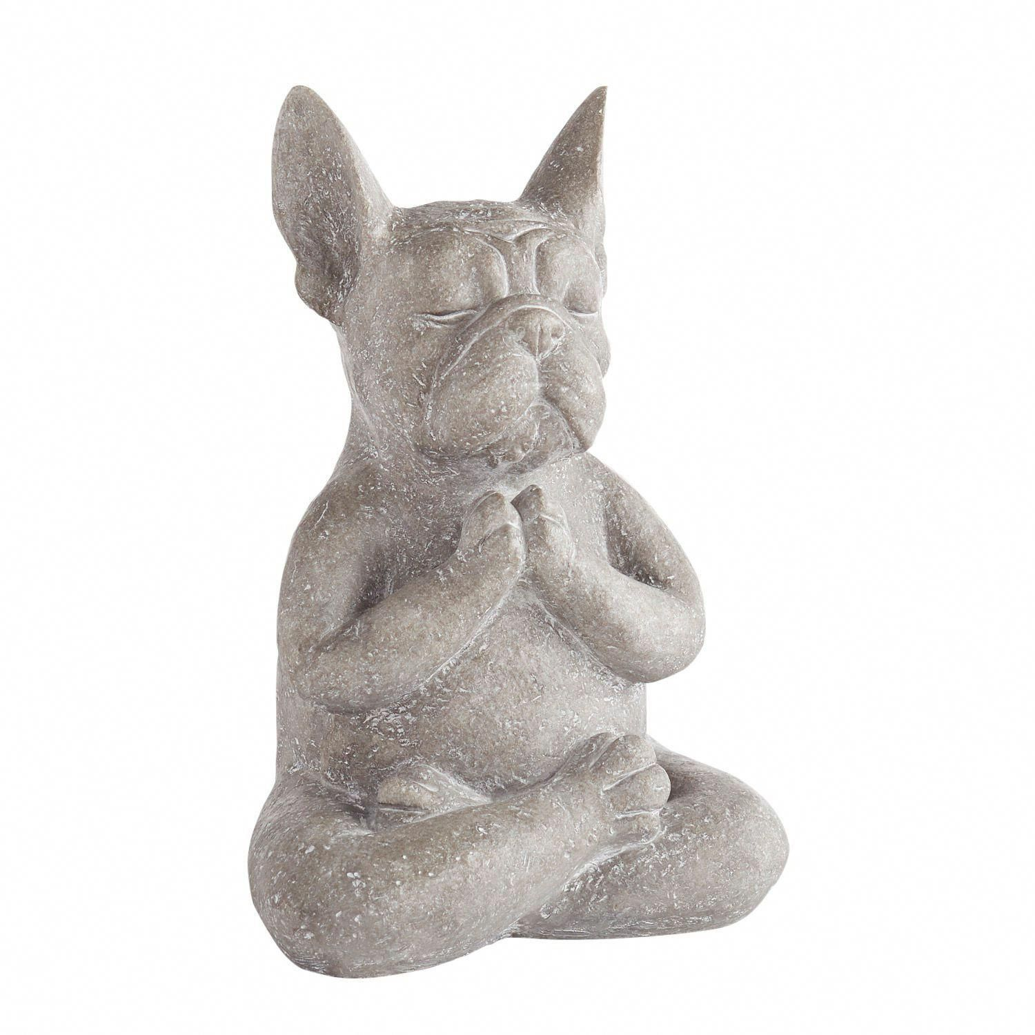Modern French Bulldog Yoga Dog Statue Yoga dog statue
