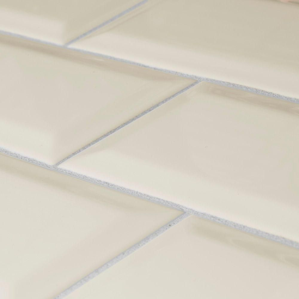 Jeffrey Court Concorde Dawn Beveled 3 In X 6 8 Mm Ceramic Wall Tile 1 Pk Pcs Sq Ft 55 Lb 99507 The Home Depot