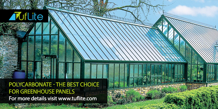 PolyCarbonate - The Best Choice For #GreenHouse Panels For