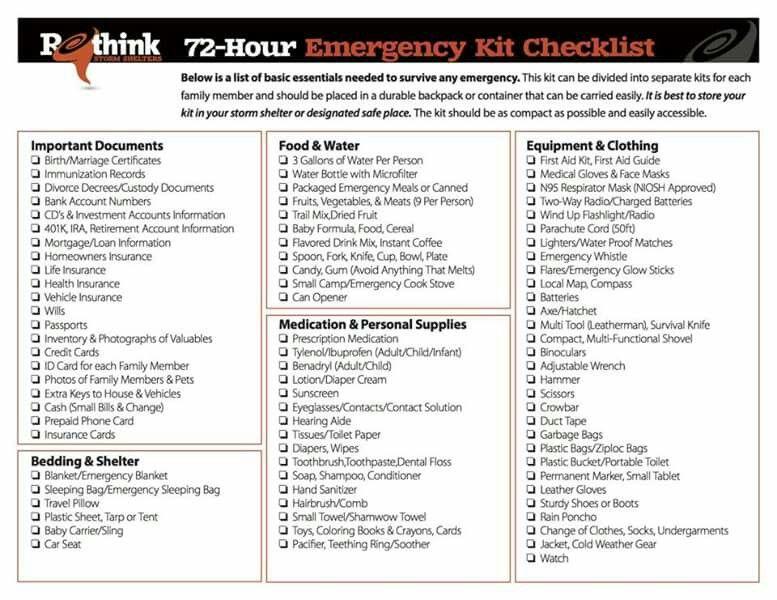 Good to know Family emergency preparedness, Emergency