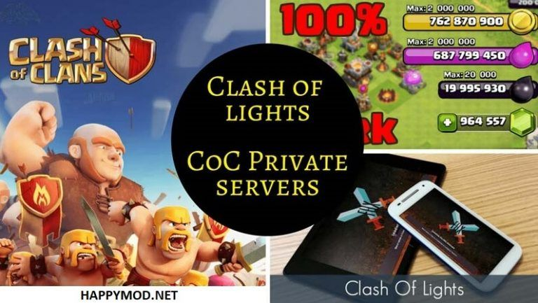 Clash of Lights Mod APK Free Download Best COC Private