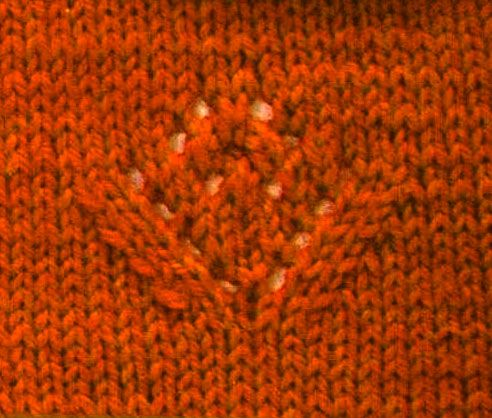 Lace Flower Motif Knit Stitch Pinterest Flower Stitch And