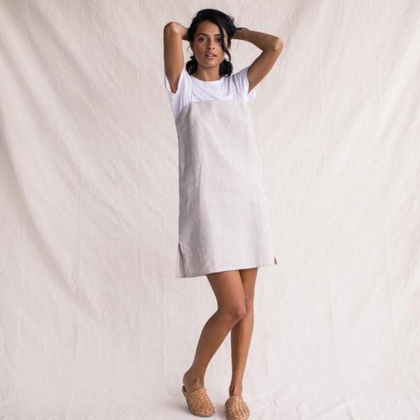 Linen Summer Dress - Natural - ST. AGNI - 1 | all dressed up ...