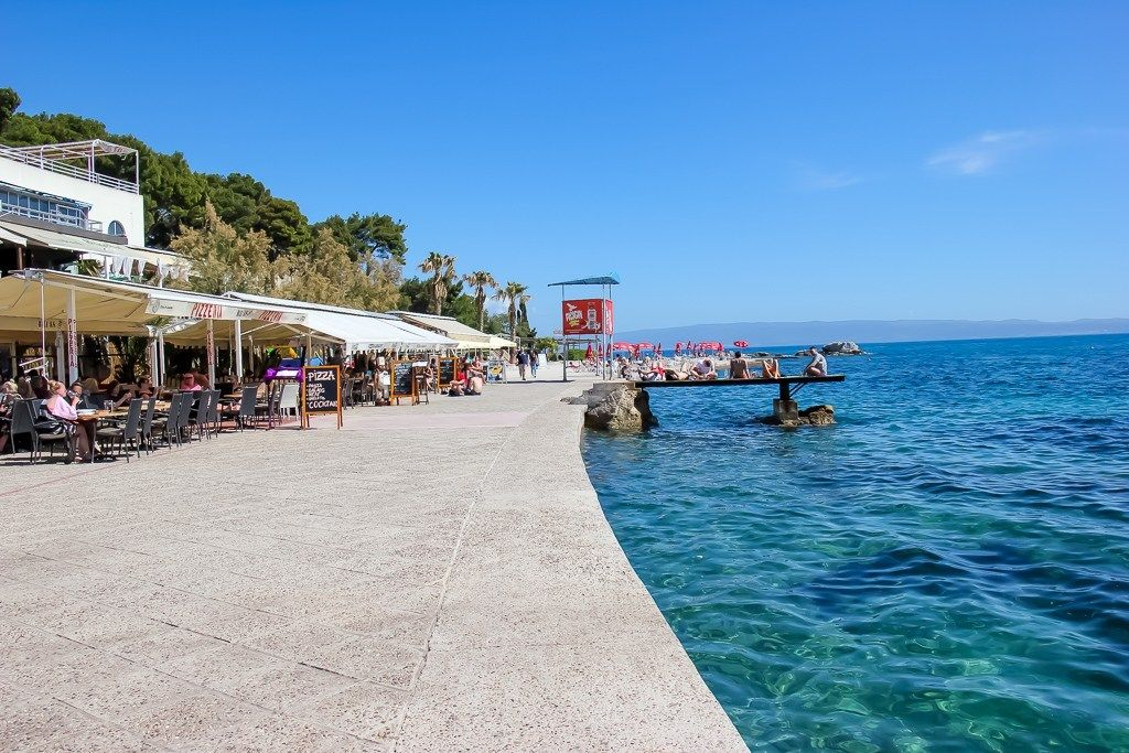 Bacvice Beach Walk Split Croatia Best Beaches In Split Croatia Beach Beach Hotels