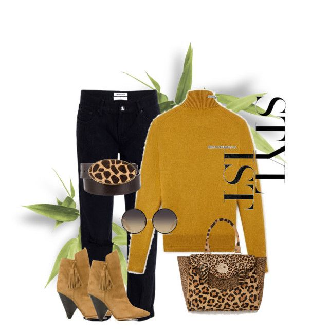 """""""Untitled #85"""" by susans-sg ❤ liked on Polyvore featuring One Teaspoon, Isabel Marant, Hill & Friends, Matthew Williamson and Adrienne Landau"""