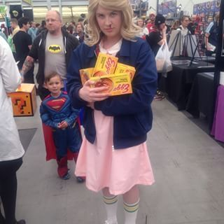 This Eggo loving Eleven… | 32 Comic-Con Cosplay Outfits That'll Inspire Your…