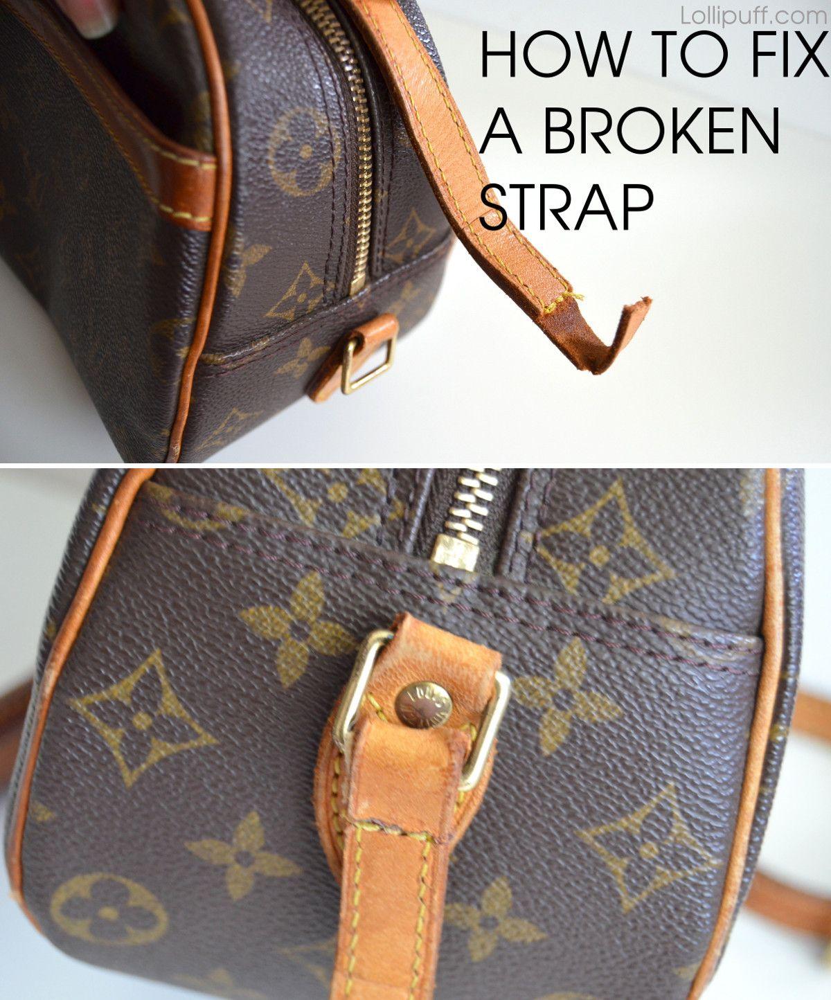 58899f14f02 Purse strap repair | DIY Styling | Pinterest | Purses, Purse strap ...