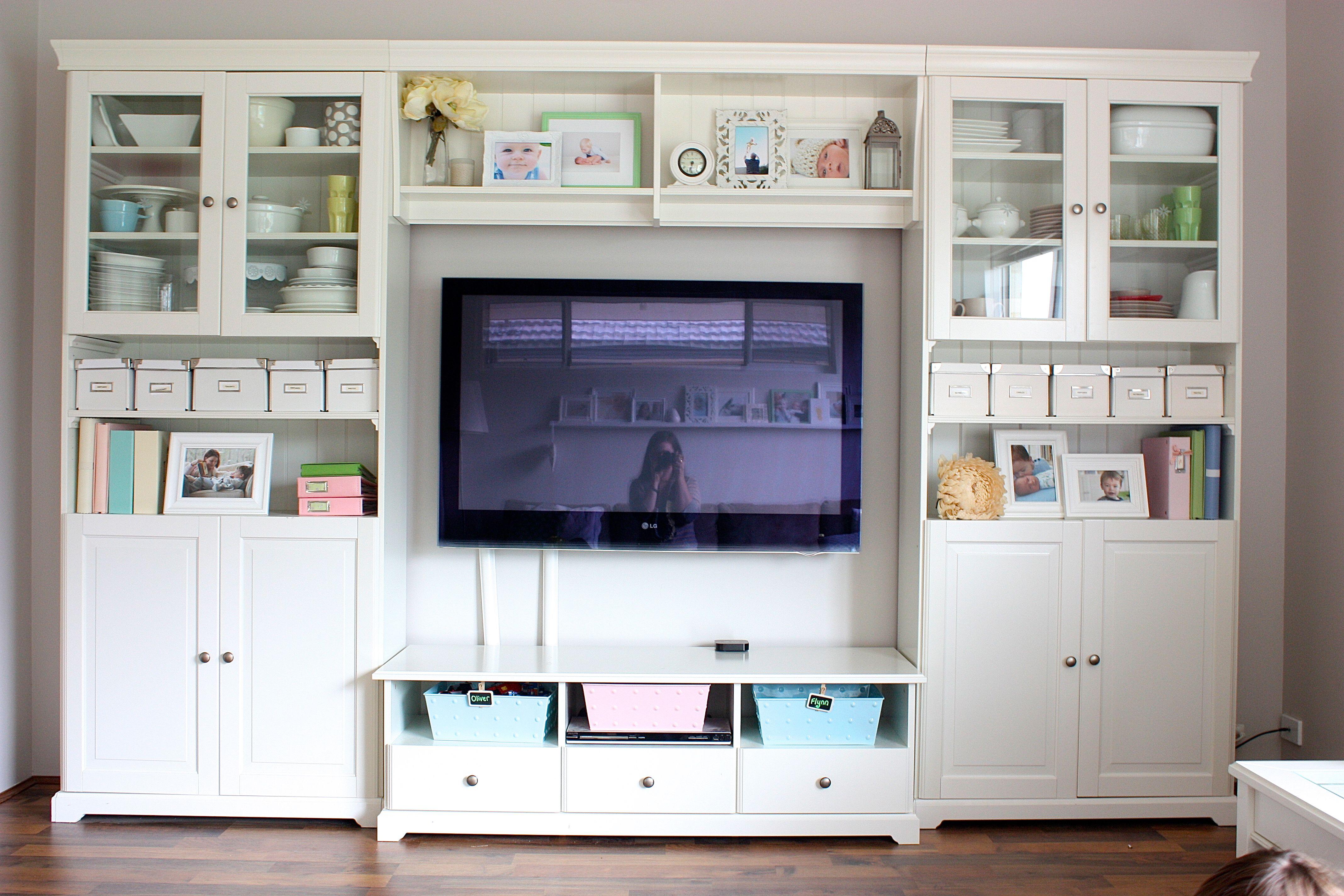 Living Room  Ikea hemnes living room, Murphy bed diy, Ikea living