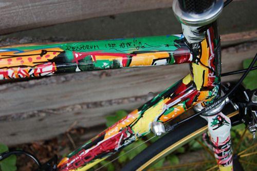 Custom Dario Pegoretti Bicycle Frame And Paint Job Sepeda Warna