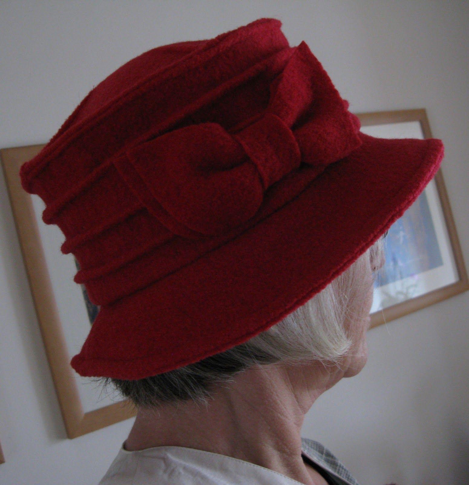 Siebensachen-zum-Selbermachen: Rot und Schwarz (Hüte ...
