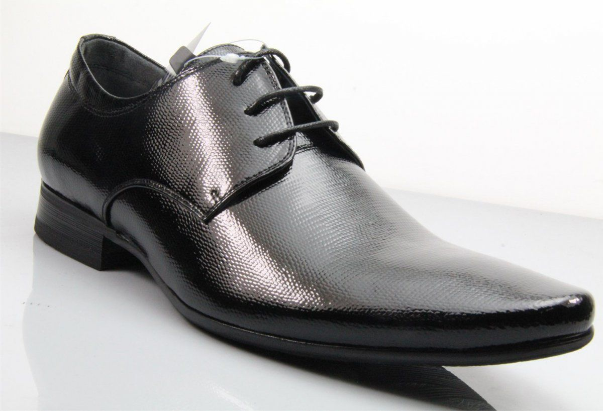 Fane Executive Patent Black Leather Shoes. #institchu #leathershoes #menswear #mensstyle
