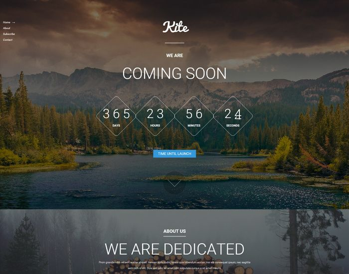 25 Free Website Under Construction And Coming Soon Page