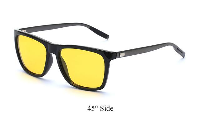 Men Sunglasses Women Square Brand designer Polaroid Retro