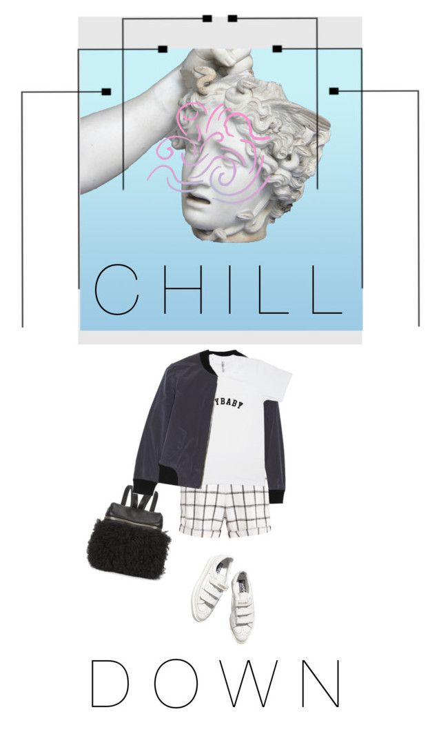"""""""CHILL DOWN"""" by melekceks ❤ liked on Polyvore"""