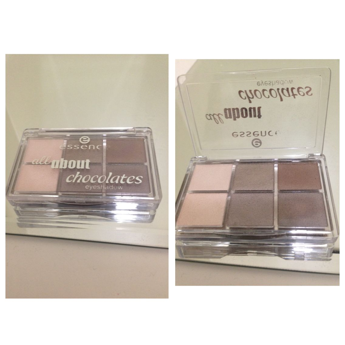 All about chocolate eyeshadow palette from essence cosmetics