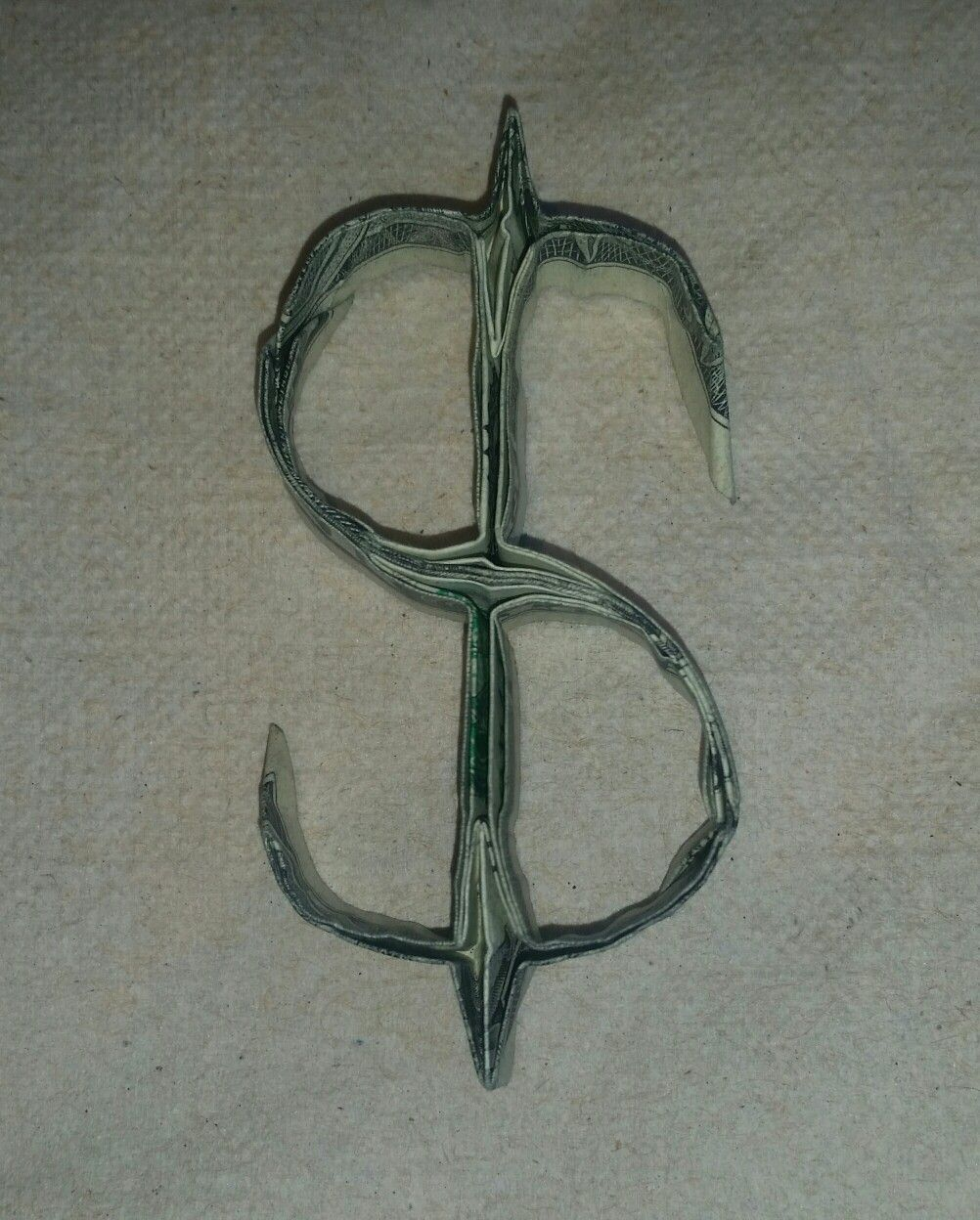 dollar sign money origami pinterest dollar sign and