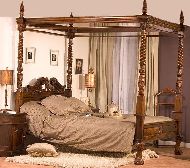 Resultado de imagen para camas estilo moro con velo | camas arabes ...