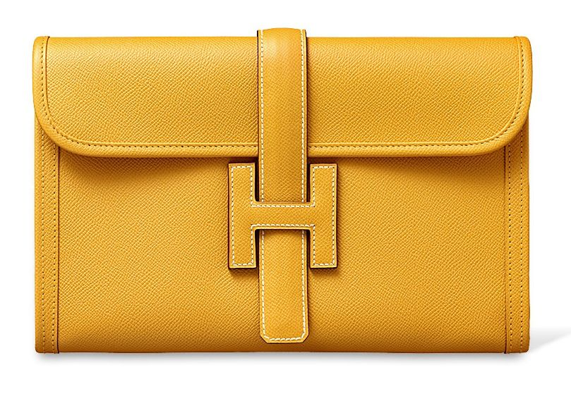 292cc0c01caf Hermes Jige Clutch Bag Reference Guide   Spotted Fashion   Anything ...