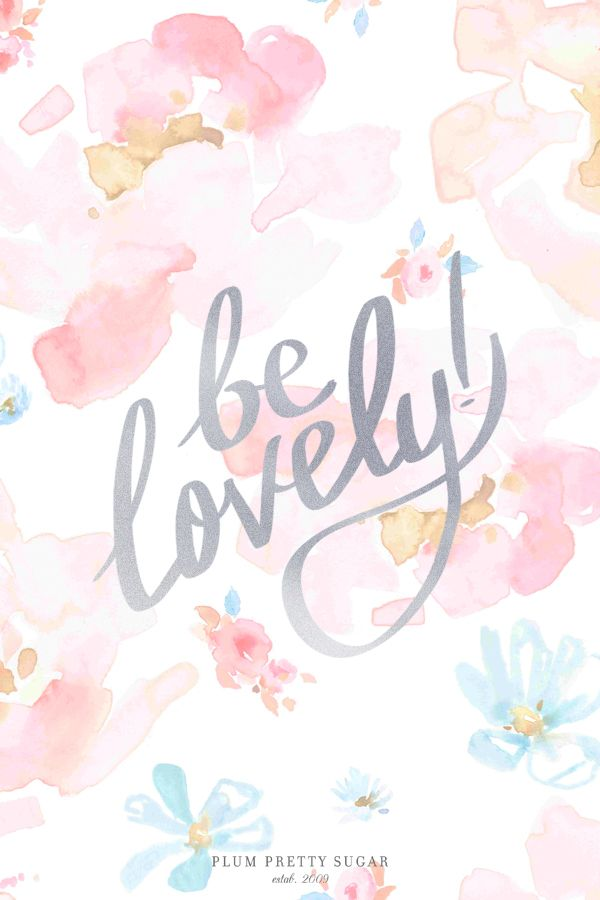 Downloadable Lovely Plum Pretty Sugar Lovely Quote Words Wallpaper Iphone Quotes