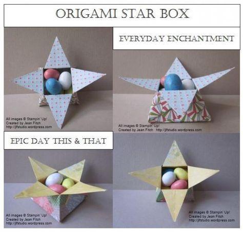Photo of Origami Star Box Papier Handwerk 66+ besten Ideen