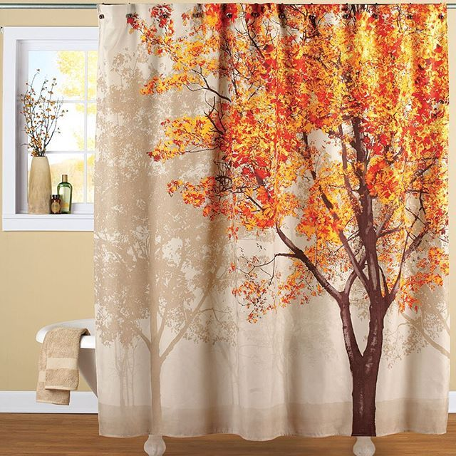 Add Beautiful Fall Color To Your Bath With This Stunning Shower