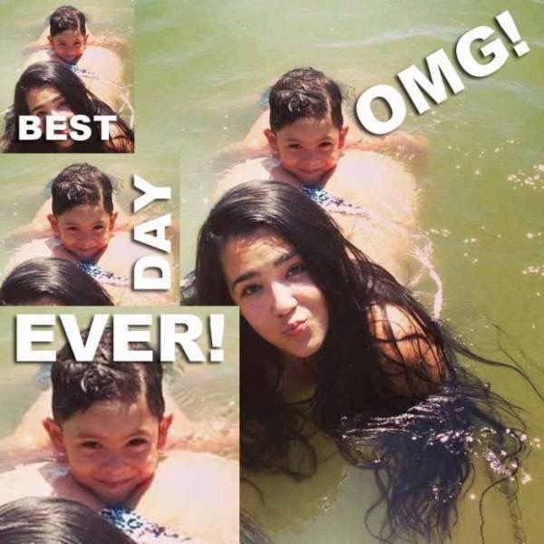 OMG! BEST DAY EVER! -- Kid's Extra Snug Swimming