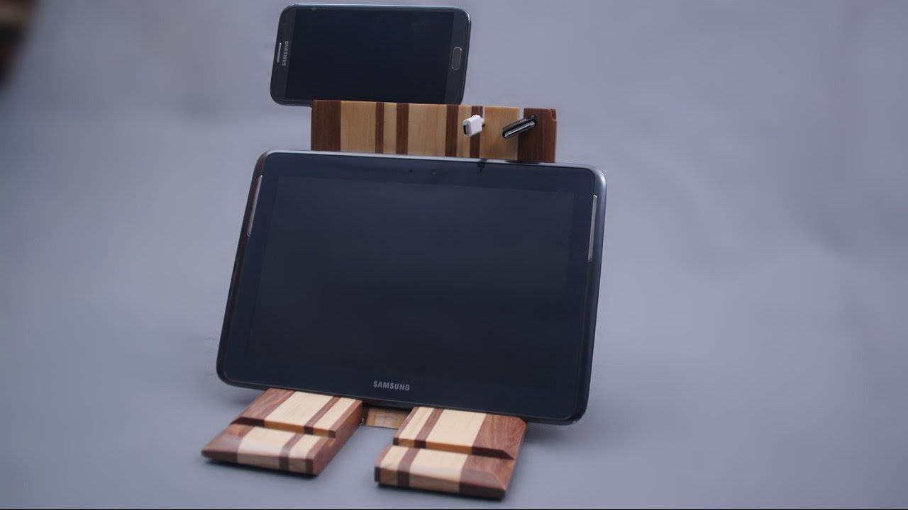 Ipad stand tablet holder woodworking ideas diy projects pinterest