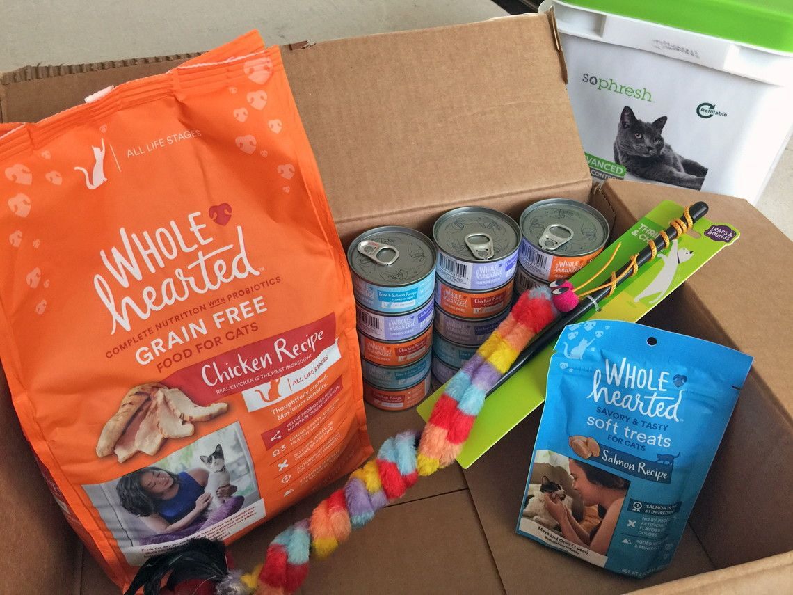 Petco One Monthly Cat Box w/ All Their Essentials, Only