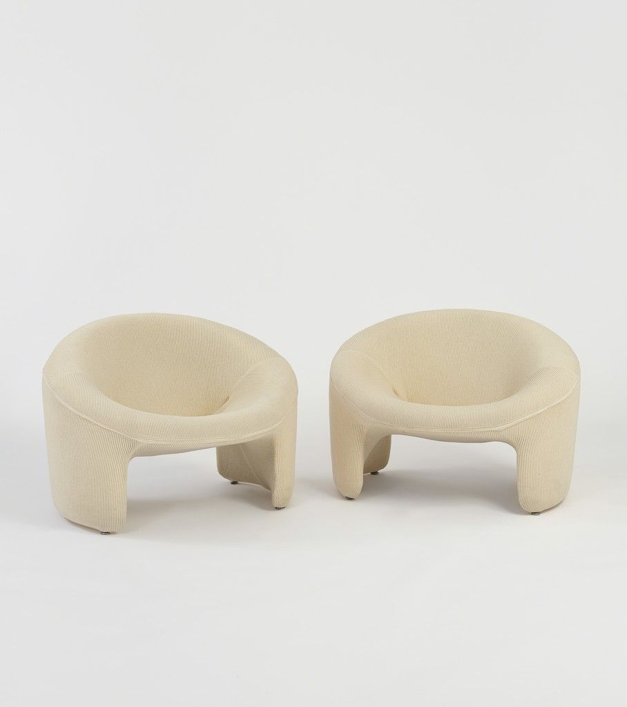 Olivier Mourgue, 'Pair Of Montreal Chairs', 1967