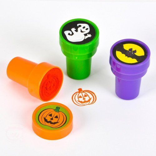 $1.99 For:3 Halloween Stampers ~ Approx. 1.5 ~ Self-inking ~ New / Shrink-wrapped ~ Ghost, Bat, Pumpkin / Jack-o-lantern by RI, http://www.amazon.com/dp/B009YKEJOU/ref=cm_sw_r_pi_dp_nHzesb0PT5QMY