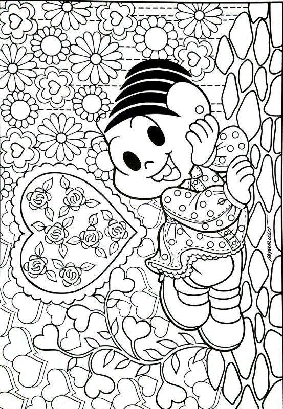 Turma Da Monica Turma Da Monica Colorir Desenhos Para Colorir